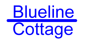 Blueline Cottage homepage